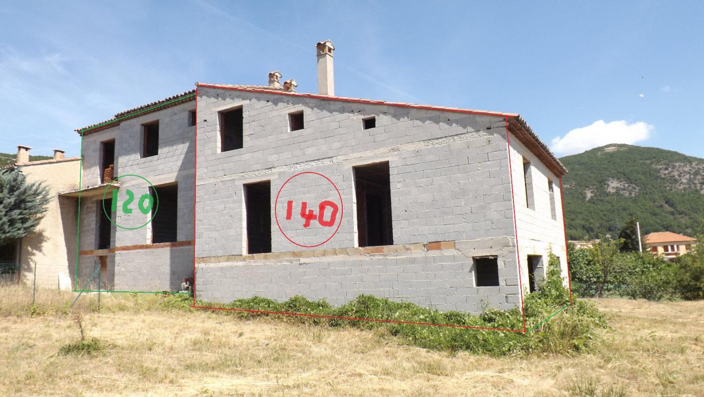 Maison  T6 villa mitoyenne T6 hors d'eau de 140 m2 sur 854 m2 de terrai Banon