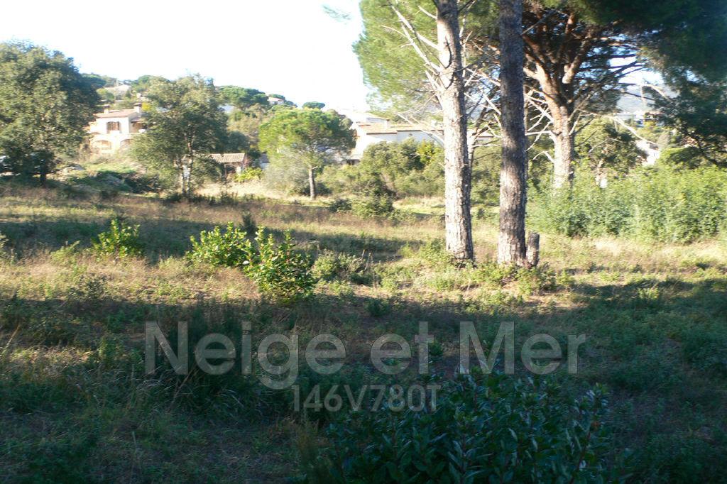 terrain avec permis construire Sainte-Maxime