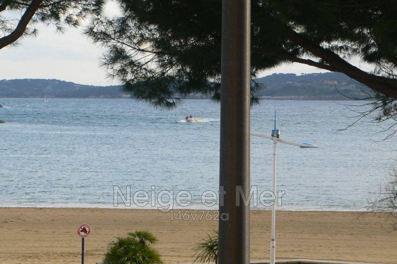 Appartement 3 pièces centre ville vue mer Sainte-Maxime