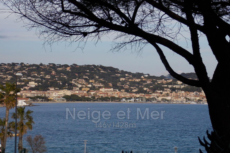 Villa piscine vue mer La Croisette Sainte-Maxime