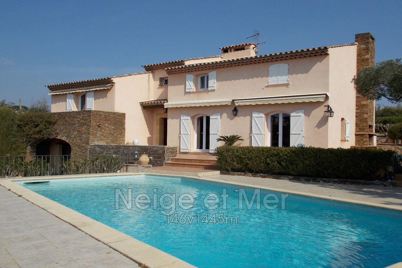 Villa piscine vue mer panoramique  Sainte-Maxime