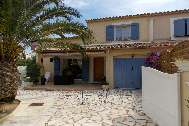 Villa individuelle piscine à 1km du centre ville de Sainte-Maxime
