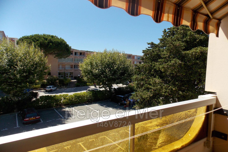 Studio résidence sécurisée  loggia deux parkings  Sainte-Maxime
