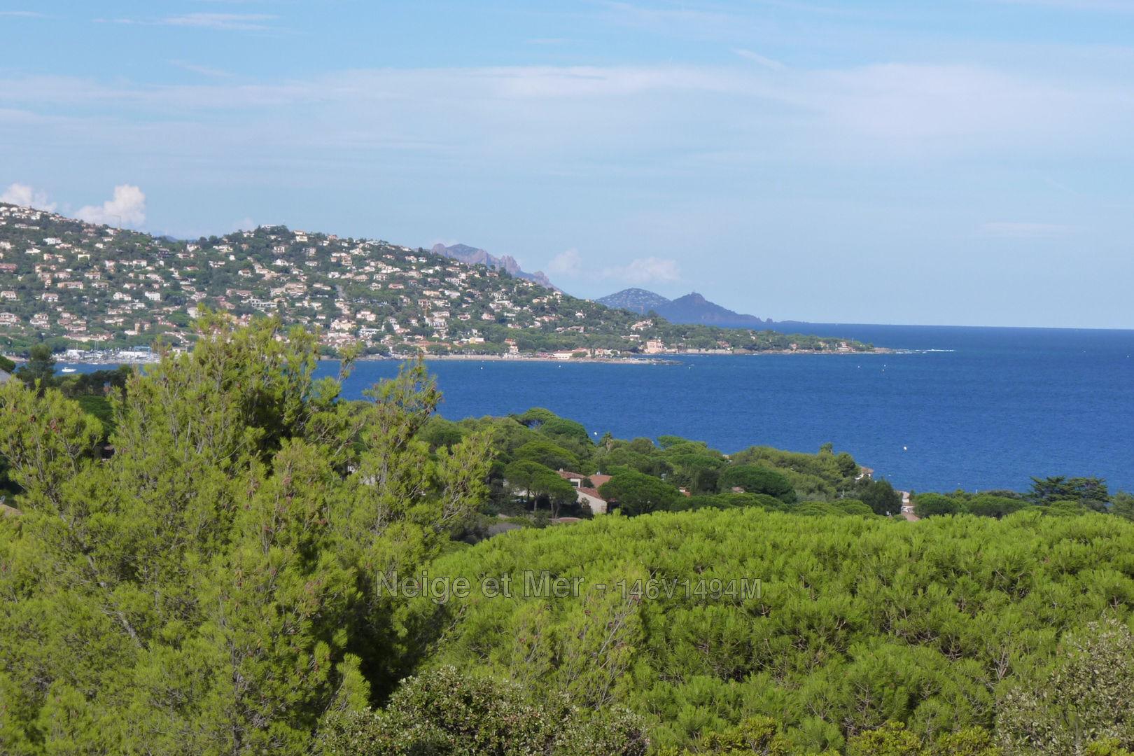 Villa vue mer à rénover Sainte-Maxime La Nartelle