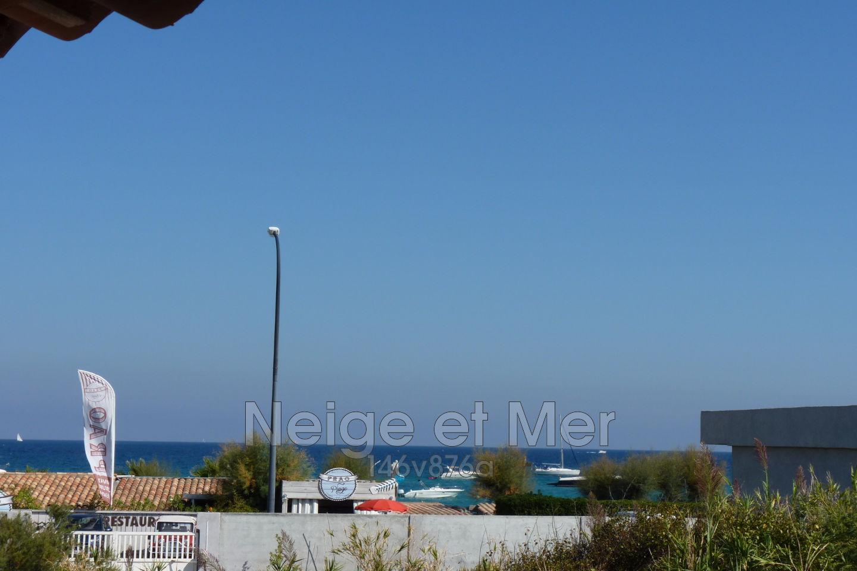Deux pièces garage vue mer Plage de la Nartelle Sainte-Maxime