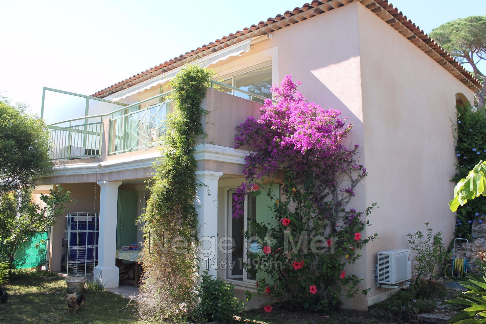 Appartement villa  résidence piscine sécurisée garage Sainte-Maxime