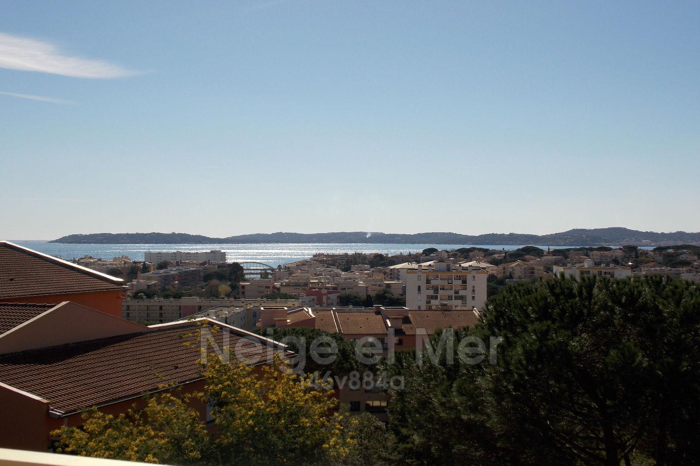 Appartement 2 pièces vue mer à Sainte-Maxime