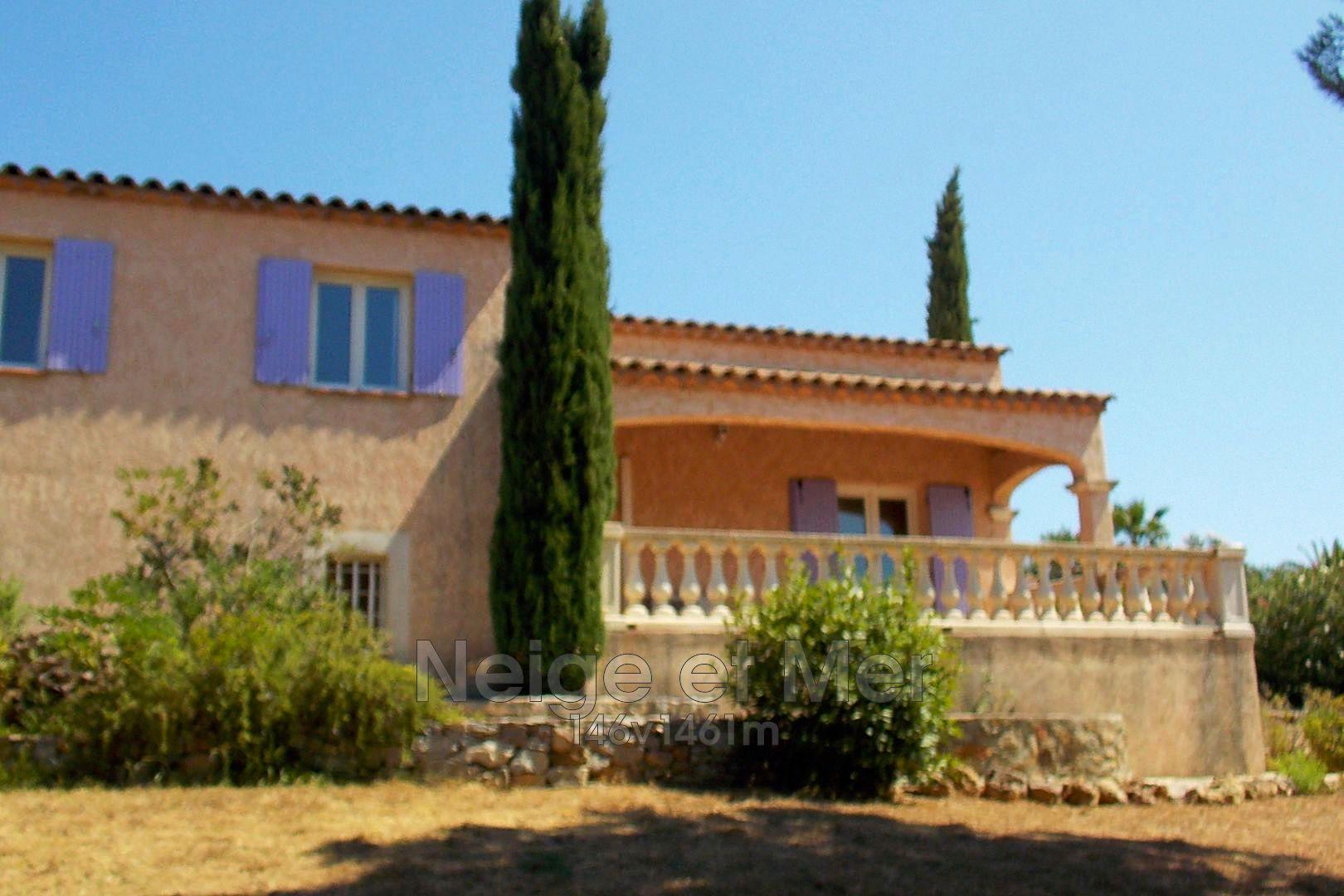villa 4 chambres garage Sainte-Maxime