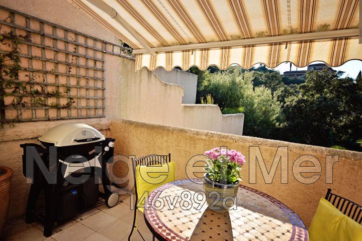 Appartement duplex résidence piscine tennis Sainte-Maxime