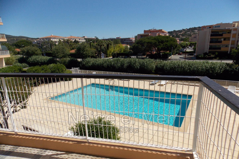 appartement séjour et cabine résidence piscine Sainte-Maxime