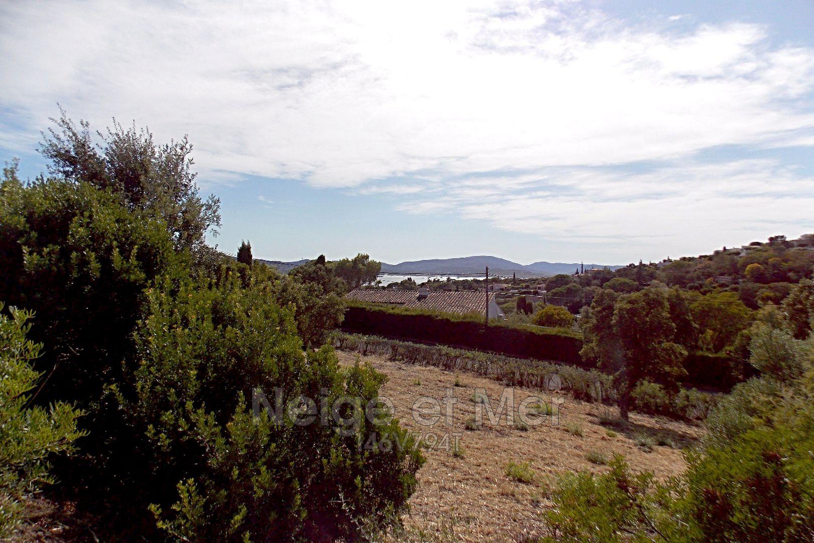 Terrain vue mer quartier de la Croisette Sainte Maxime