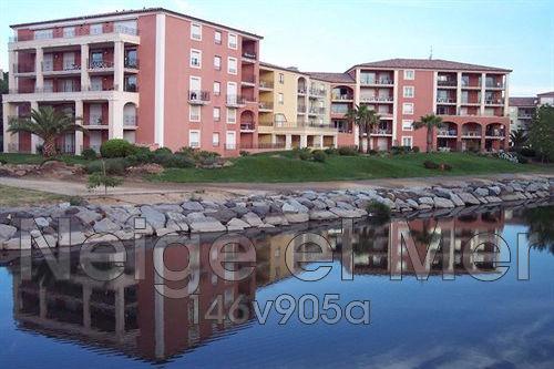 appartement  T2 Sainte-Maxime résidence piscine