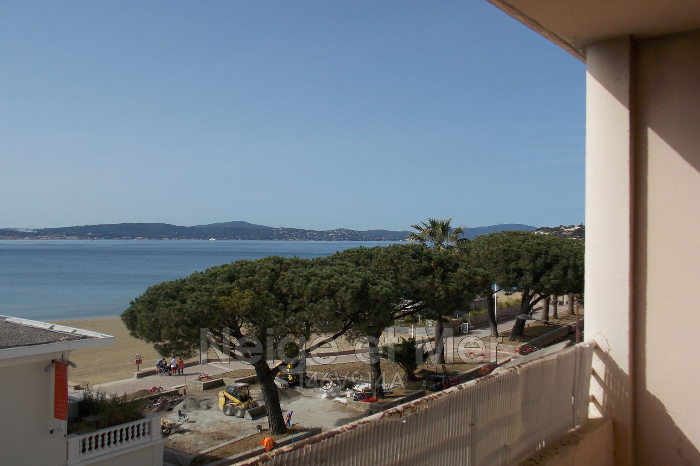 appartement  T3 vue mer centre ville Sainte-Maxime
