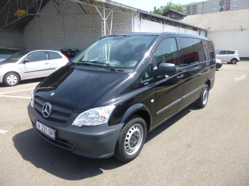 mercedes benz vito minibus 116 cdi be combi long ba vente voiture villeurbanne richard. Black Bedroom Furniture Sets. Home Design Ideas