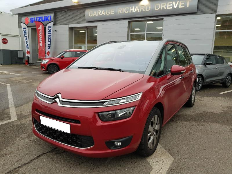 citroen grand c4 picasso monospace e hdi 115ch intensive etg6 vente voiture villeurbanne. Black Bedroom Furniture Sets. Home Design Ideas