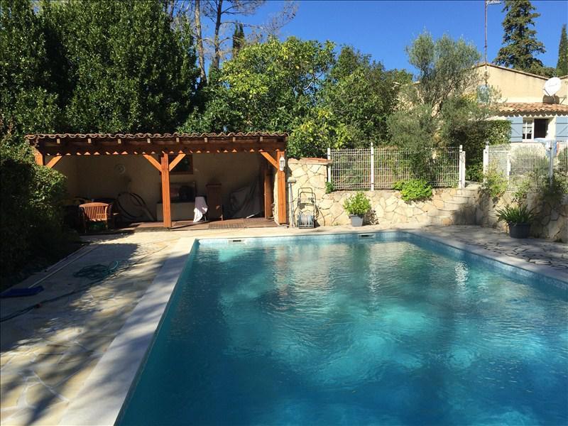MAISON DE CARACTERE T5 GAREOULT cossue, en bout d'impasse avec piscine chauffée et alarme