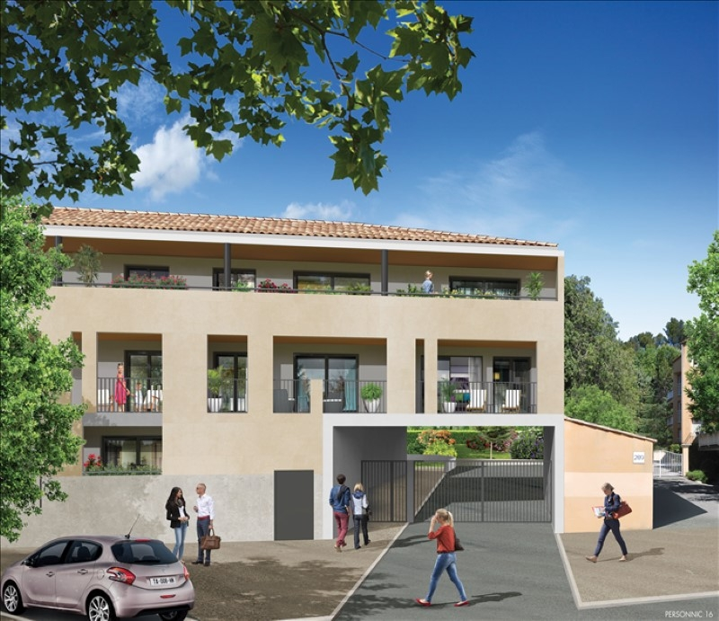 Appartement T3 à vendre Aix en Provence avec parking et terrasse