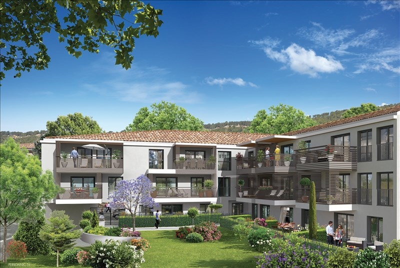 AIX EN PROVENCE-T2 NEUF-TERRASSE-PARKING PRIVATIF-THOLONET