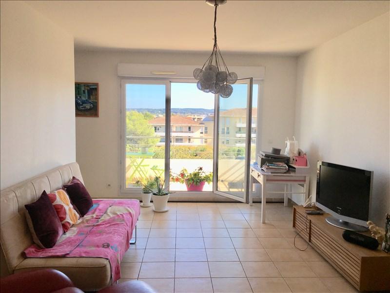 Aix-en-Provence - la Duranne - T3  avec VUE SUR STE VICTOIRE residence avec TERRASSE +  GARAGE +PARKING PRIVE