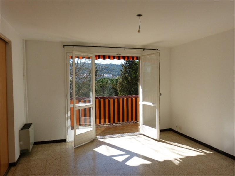 A vendre un grand T2 traversant nord/sud avec balcon, quartier Sud d'Aix-en-Provence