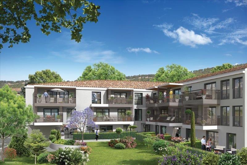 En résidence de standing au Tholonet, T2 avec jardin privé
