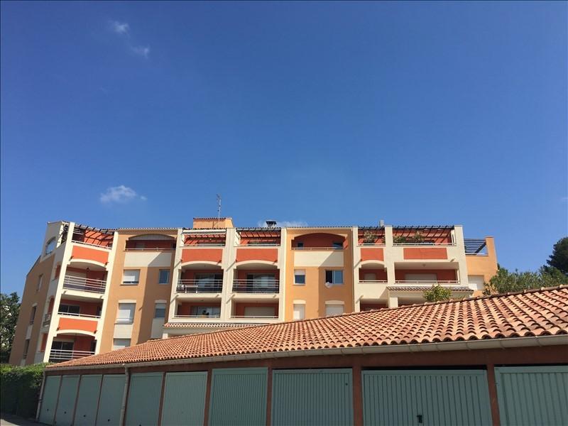 Aix en Provence quartier Est T4 avec terrasse fermée, balcon et box
