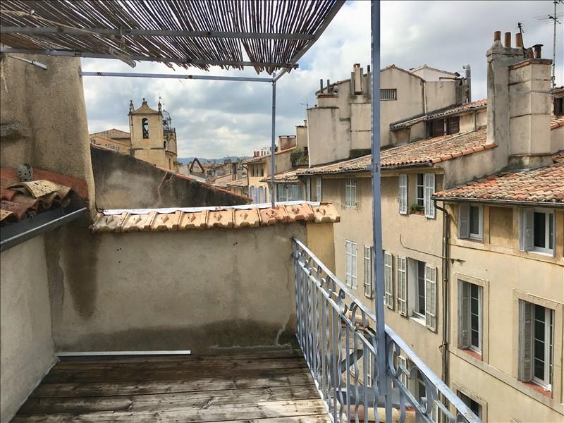 Aix en Provence centre ville un T3 avec une terrasse