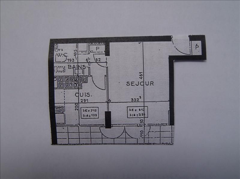STUDIO T1 MARSEILLE 09 SUR LA ROUTE DU CAMPUS LUMINY