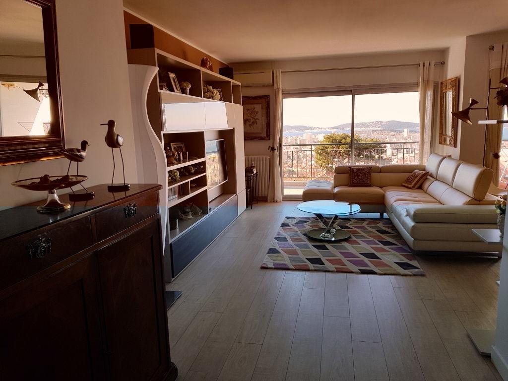 Vente appartement Toulon Le Faron Spacieux 4 pièces - Terrasse magnifique vue mer