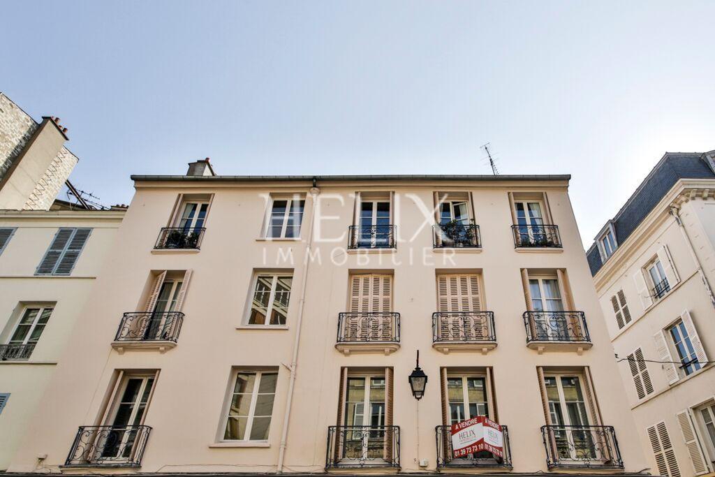 Appartement rue de poissy saint germain en laye helix for Appartement atypique saint germain en laye