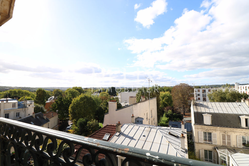 Vente d'un charmant appartement le Vésinet centre 86 M² 2 chambres