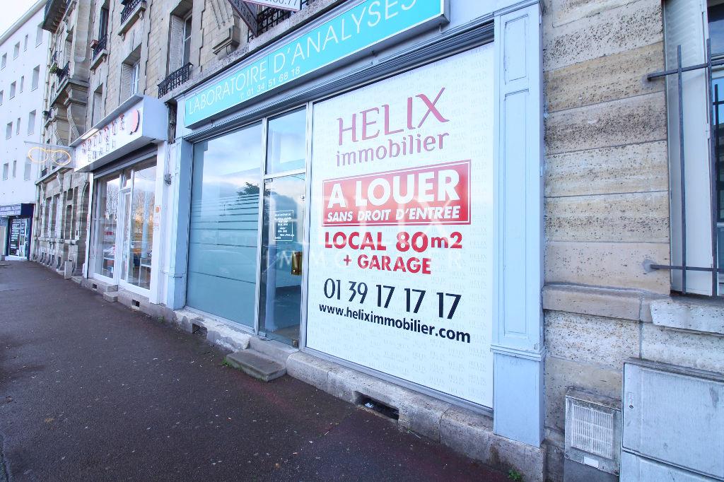 Local commercial Le Pecq 5 pièce(s) 80 m2